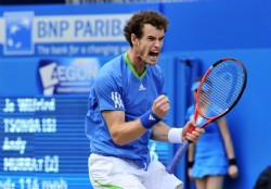 Andy Murray volvi� a reinar en Queen`s