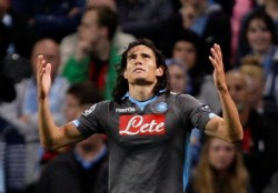 Cavani implacable