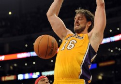 Lakers inquietos por rumores sobre Gasol
